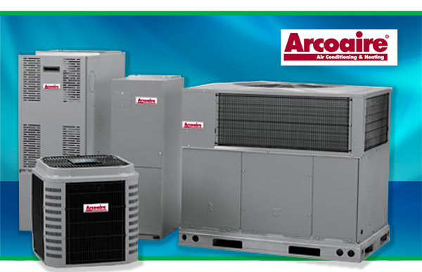 Arcoaire furnace and central air conditioning units - sold and serviced by Air Comfort, Cedar Rapids, IA